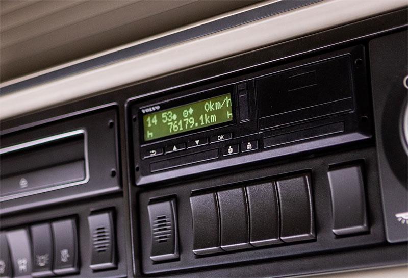 Digitaler Tachograph Auslesen